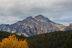 πυραμίδα βουνών του Κανα&d στοκ φωτογραφία