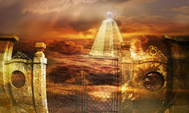 πυραμίδα γυάλινη Στοκ Εικόνες