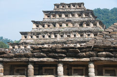 πυραμίδα θέσεων EL Μεξικό tajin Στοκ Φωτογραφίες