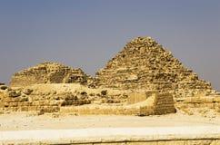 Πυραμίδα της βασίλισσας Henutsen, Meritethis Ι Στοκ φωτογραφία με δικαίωμα ελεύθερης χρήσης