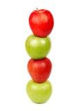 Πυραμίδα των μήλων Στοκ Εικόνες