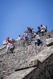 πυραμίδα φεγγαριών teotihuacan Teotihuacan, Πόλη του Μεξικού, Μεξικό στοκ εικόνα