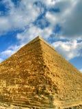 πυραμίδα 01 hdr Στοκ φωτογραφίες με δικαίωμα ελεύθερης χρήσης