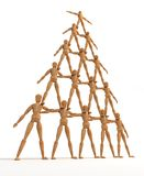 πυραμίδα Στοκ εικόνα με δικαίωμα ελεύθερης χρήσης