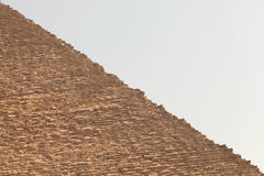 πυραμίδα giza της Αιγύπτου Στοκ φωτογραφίες με δικαίωμα ελεύθερης χρήσης