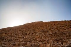 Πυραμίδα Khafre σε Giza, Αίγυπτος Στοκ εικόνες με δικαίωμα ελεύθερης χρήσης