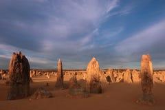 πυραμίδες ερήμων Στοκ φωτογραφία με δικαίωμα ελεύθερης χρήσης