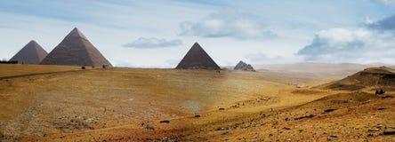πυραμίδες Στοκ Φωτογραφίες