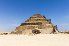 Πυραμίδα βημάτων Djoser στοκ φωτογραφία με δικαίωμα ελεύθερης χρήσης