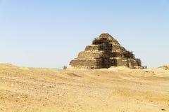 Πυραμίδα στην έρημο στοκ φωτογραφία