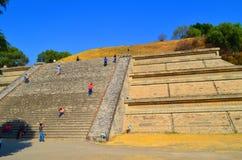 Πυραμίδα του Πουέμπλα Cholula México Στοκ Εικόνες