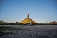 Πυραμίδα Austerlitz Στοκ φωτογραφίες με δικαίωμα ελεύθερης χρήσης