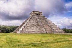 Πυραμίδα Chichen Itza, Yucatan, Μεξικό της Maya Στοκ Εικόνα