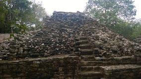 Πυραμίδα Coba στοκ εικόνες