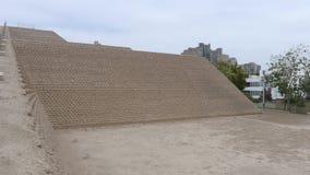 Πυραμίδα Huaca Huallamarca στο SAN Isidro, Λίμα Στοκ φωτογραφία με δικαίωμα ελεύθερης χρήσης