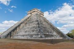 Πυραμίδα Itzà ¡ Chichen - σκαλοπάτια στον ουρανό Στοκ φωτογραφίες με δικαίωμα ελεύθερης χρήσης