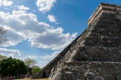 Πυραμίδα Itzà ¡ Chichen Στοκ Εικόνα