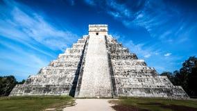Πυραμίδα Itza Chichen στοκ φωτογραφία με δικαίωμα ελεύθερης χρήσης