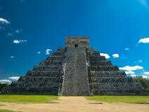 Πυραμίδα Kukulkan στην παλαιά maya πόλη Chichen Itza, Yucatan Μεξικό Στοκ εικόνες με δικαίωμα ελεύθερης χρήσης