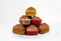 Πυραμίδα muffins Στοκ φωτογραφία με δικαίωμα ελεύθερης χρήσης