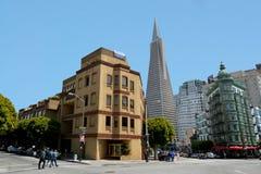 Πυραμίδα Transamerica στο Σαν Φρανσίσκο - Καλιφόρνια ΗΠΑ Στοκ φωτογραφία με δικαίωμα ελεύθερης χρήσης