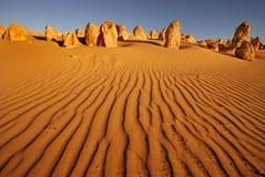 πυραμίδες ερήμων Στοκ Φωτογραφίες