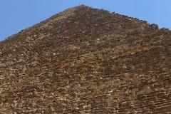 Πυραμίδες στην έρημο της Αιγύπτου σε Giza Στοκ Εικόνα