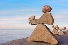 Πυραμίδες της πέτρας Στοκ φωτογραφία με δικαίωμα ελεύθερης χρήσης