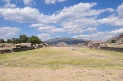 Πυραμίδες Teotihuacan, Μεξικό Στοκ εικόνα με δικαίωμα ελεύθερης χρήσης