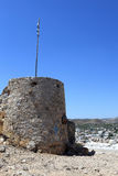 Πυργίσκος του κάστρου Αγίου John Στοκ εικόνα με δικαίωμα ελεύθερης χρήσης