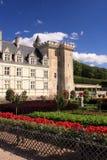 Πυργος και κήπος Villandry στοκ εικόνες με δικαίωμα ελεύθερης χρήσης