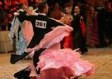 πυρετός χορού διαγωνισμ&om Στοκ Εικόνες