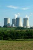 πυρηνικές εγκαταστάσεις Στοκ Φωτογραφία