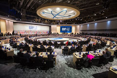 Πυρηνική Σύνοδος Κορυφής ασφάλειας στην Ουάσιγκτον, 2016 Στοκ Εικόνα
