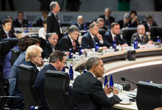 Πυρηνική Σύνοδος Κορυφής ασφάλειας στην Ουάσιγκτον, 2016 Στοκ φωτογραφίες με δικαίωμα ελεύθερης χρήσης