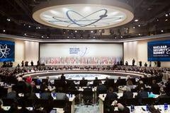 Πυρηνική Σύνοδος Κορυφής ασφάλειας στην Ουάσιγκτον, 2016 Στοκ Εικόνες