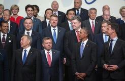 Πυρηνική Σύνοδος Κορυφής ασφάλειας στην Ουάσιγκτον, 2016 Στοκ Φωτογραφία