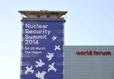 Πυρηνική Σύνοδος Κορυφής 2014 ασφάλειας Στοκ εικόνες με δικαίωμα ελεύθερης χρήσης