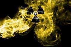 Πυρηνικός καπνός στοκ φωτογραφία με δικαίωμα ελεύθερης χρήσης