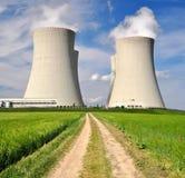 Πυρηνικός σταθμός στοκ εικόνα με δικαίωμα ελεύθερης χρήσης