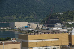 Πυρηνικός σταθμός Angra στοκ εικόνες με δικαίωμα ελεύθερης χρήσης