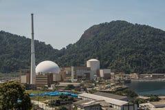 Πυρηνικός σταθμός Angra Στοκ φωτογραφίες με δικαίωμα ελεύθερης χρήσης