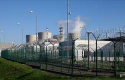 Πυρηνικός σταθμός Temelin στη Δημοκρατία της Τσεχίας Ευρώπη Στοκ Εικόνα