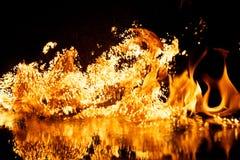 πυρκαγιά έκρηξης Στοκ εικόνες με δικαίωμα ελεύθερης χρήσης
