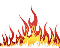 πυρκαγιά ανασκόπησης Στοκ Εικόνες