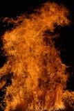 πυρκαγιά ανασκόπησης Στοκ Φωτογραφία