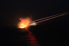Πυρκαγιά ανιχνευτών Στοκ εικόνες με δικαίωμα ελεύθερης χρήσης
