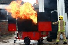 πυρκαγιά επίδειξης ζωντα Στοκ φωτογραφία με δικαίωμα ελεύθερης χρήσης