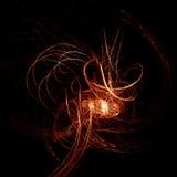 πυρκαγιά καμπυλών Στοκ φωτογραφία με δικαίωμα ελεύθερης χρήσης