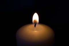 Πυρκαγιά κεριών Στοκ Εικόνες